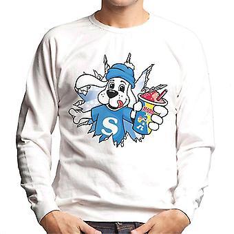 Slush Puppie Burst Through Men's Sweatshirt