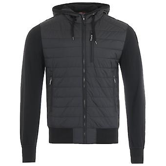 Parajumpers Ivor Puffer Hooded Sweatshirt - Black