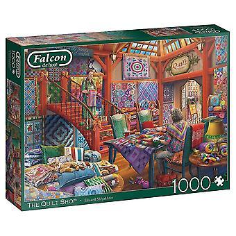 Falcon de luxe Palapeli 1000 kappaletta The Quilt Shop