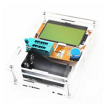 متر ميجا الترانزستور، رقمي ثنائي دودي Triode السعة، شاشة LCD اختبار