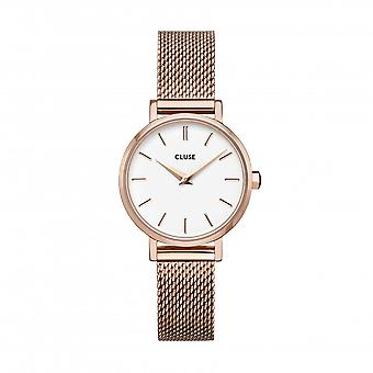 Cluse Unisex La Behème Rose Gold Circle Quartz Fashion Watch CW0101211003