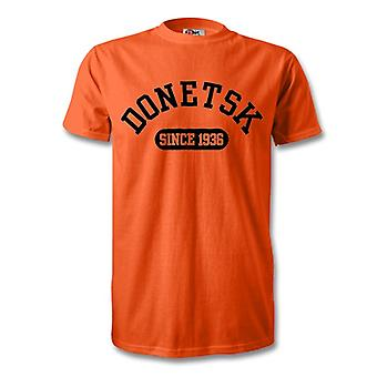 Shakhtar Donetsk 1936 perustettu Football t-paita