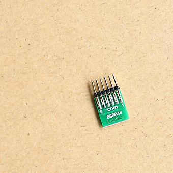 6 Pin Decoder Blanking Plug für Modellbahn Züge bereit Lokomotive