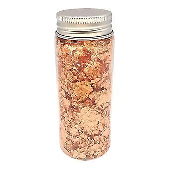 Edible Rose Gold Flake For Baking Decoration