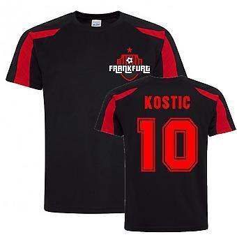 Filip Kostic Frankfurt Maillot d'entraînement sportif (Noir)