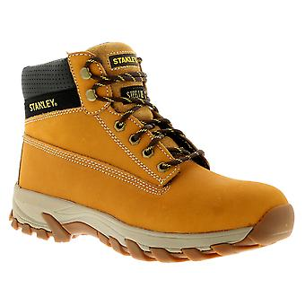 New Mens/Gents Honey Stanley Lace Up Steel Toe Cap Safety Boots. UK Size