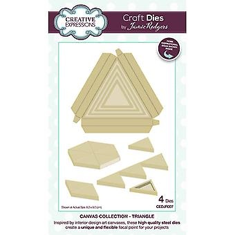 Creative Expressions Canvas Collection Cutting Dies - Triângulo