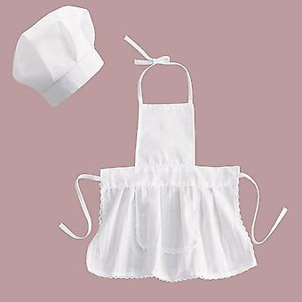 Cute Baby Chef Apron & Hat Costume