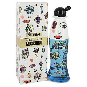 Cheap & Chic So Real Eau De Toilette Spray By Moschino 3.4 oz Eau De Toilette Spray
