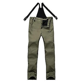 Pantalon de sport thermique imperméable à l'épreuve du vent