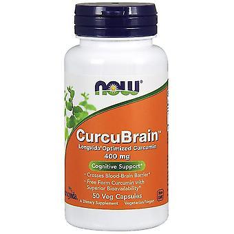 Nå Foods CurcuBrain 400 mg 50 Gélules Végétales