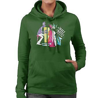 Pixar Soul Joe Gardner Half Note Jazz Club Women's Hooded Sweatshirt