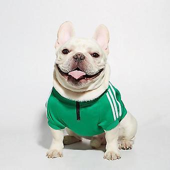 Designer de câine haine mici de dimensiuni medii chihuahua franceză bulldog sweatshirt haine toamna iarna moda fermoar pulover jacheta