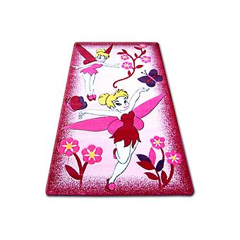 Rug children HAPPY C224 pink Fairy