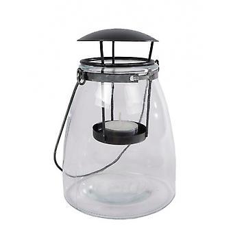 فانوس لين 22 × 10.5 سم الزجاج شفافة