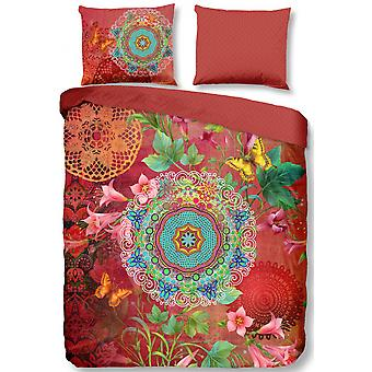 cover Novali 200 x 220 cm satin red