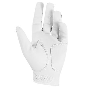 DKNY Mens 2021 All Leather Cabretta Soft Elasticated Left Hand Golf Glove