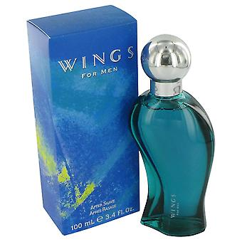 WINGS door Giorgio Beverly Hills After Shave 3.4 oz