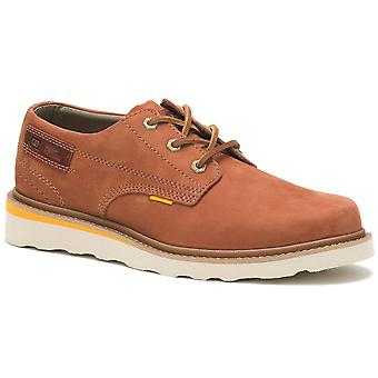 Caterpillar Mens Jackson Low Nubuck Leather Lace Up Chaussures