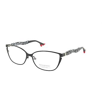 Face A Face Eyeglasses Frame BOCCA BELLE 1 Col. 915 Acetate Satin Black Mosaic