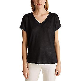 ESPRIT 030eo1k303 T-paita, 001/Musta, S Nainen
