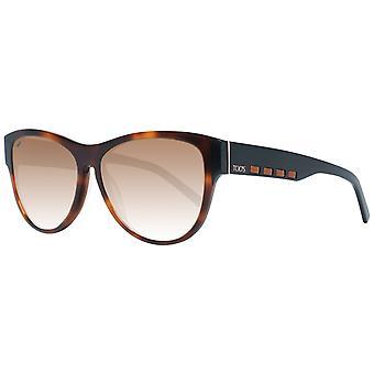 Braune Frauen Sonnenbrille