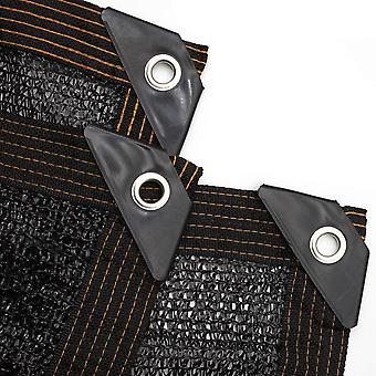 Greenhouse Covers Sunblock Shade Cloth Net Mesh Tarp 85% UV Resistant Outdoor Shade Edge(2*3m)