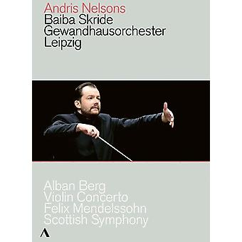 Violin Concerto / Scottish Symphony [DVD] USA import