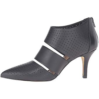 Bella Vita Womens Danica Leather Pointed Toe Classic Pumps