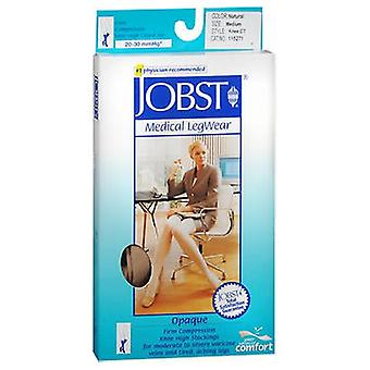 Jobst Jobst Opaque Compression Stockings 20-30 Closed Toe Knee Highs Beige, Medium each