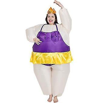 Puhallettava puku baletti puku show Halloween joulu Cosplay Party Fancy Haalari