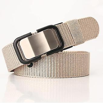 New Nylon Belt With Automatic Buckle, Men's Belt, Casual, Versatile Trousers, Trendy And