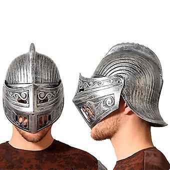 Casque Chevalier médiéval Argent