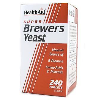 HealthAid Bryggerier Gjær Tabletter 240 (801090)