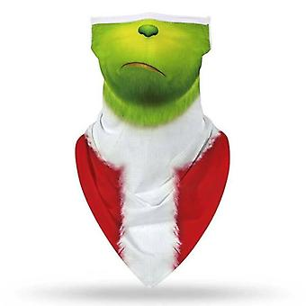 (#5) Kerstmis Santa Sneeuwman Balaclava Nek Bandana Tube Sjaal Gezichtsmasker Cover