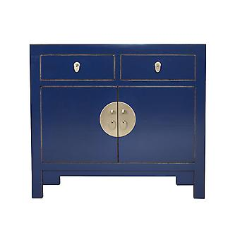 Fine Asianliving kinesiske kabinet Midnight Blue - Orientique Collection W90xD40xH80cm