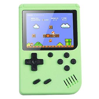 (Verde) Console retrò portatile Gameboy 500 Giochi classici Regalo per bambini