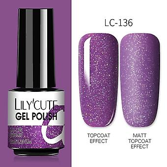 7Ml nails gel polish fall winter color long lasting hybrid for  base top coat soak off uv led diy nail art gel