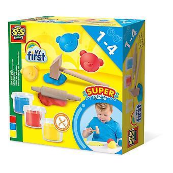 Ma première pâte à modeler pour enfants avec un ensemble d'outils en argile