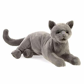 Hand Puppet -  - Purring Cat New Toys Soft Doll Plush 3113