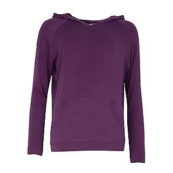 Cyberjammies Margo 4980 női lila modális kapucnis pizsama felső