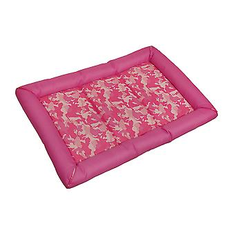 Snoozzy Durable rose Camouflage Canine Dog Crate Mat 30 x 21 dans.