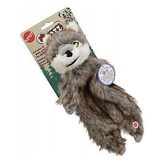 "Spot Furzz Wolf Dog Toy - Regular - 13.5"" - 1 Count"