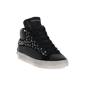 Crime london high top studs sneakers fashion