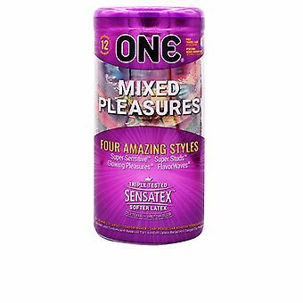 Een Mixed Pleasures Condooms 12 U Unisex