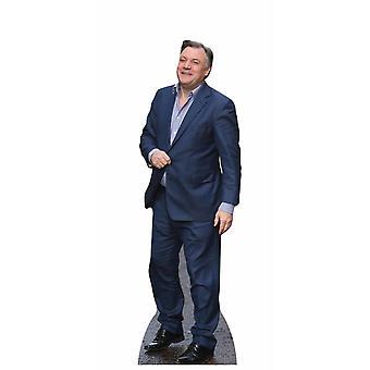 Ed Balls Lifesize Cardboard Cutout / Standee / Stand Up