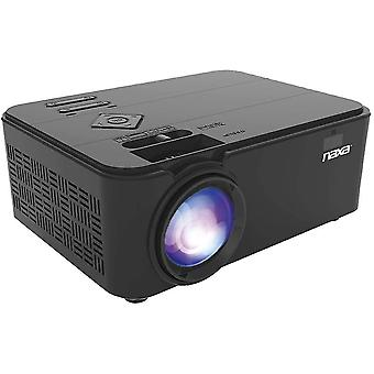 Multimedia projectors home theater lcd projector  150-inch  black