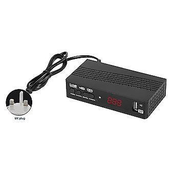 Intelligens vevő h.265 dvb-t2 usb2.0 wifi set top digitális konverter tuner játék házimozi pvr epg