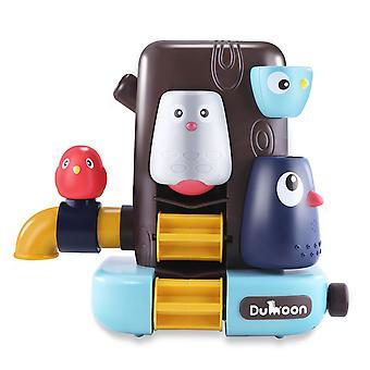 エレファントバスクスプリンクラー蛇口、ベビーバスのおもちゃ、ホースとゲーム