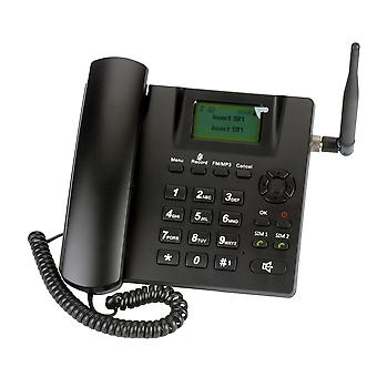 Dual Sim Card/stand By Gsm Fixed Wireless Phone With Antenna